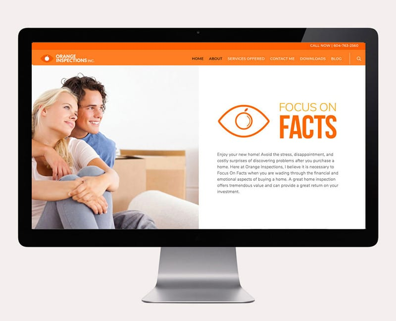 Orange Inspections Website